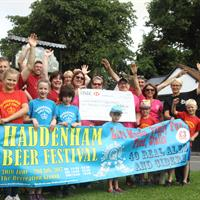 Haddenham Beer Festival Raises Thousands
